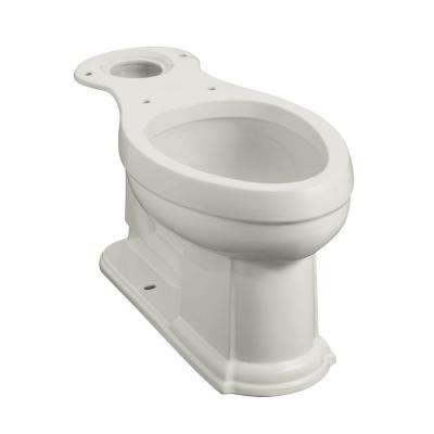 Devonshire Comfort Height Elongated Toilet Bowl Only in Ice Grey