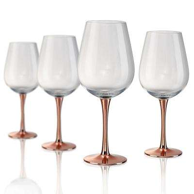 22 oz. Coppertino Wine/Water Glass (Set of 4)