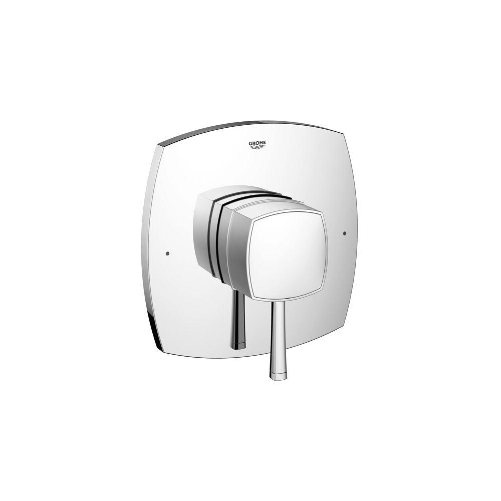 GROHE Grandera GrohFlex 1-Handle Pressure Balance Valve Only Trim Kit in Polished Chrome (Valve Sold Separately)