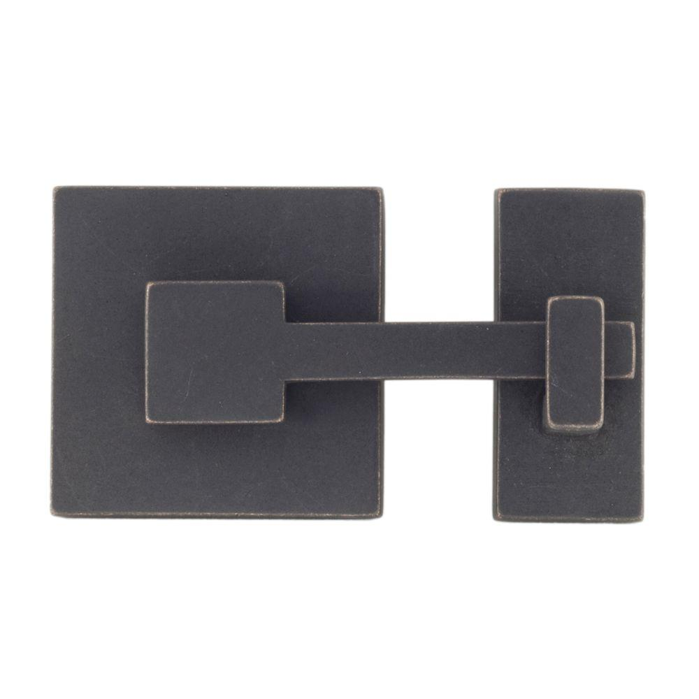 Rhombus 1 in. Oil-Rubbed Bronze Square Latch-RL021644 - The Home Depot