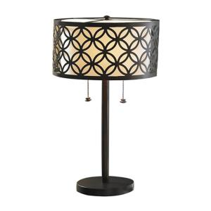 Bel Air Lighting Earling 25 inch Rubbed Oil Bronze Table Lamp with Metal Shade by Bel Air Lighting