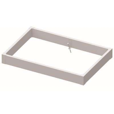 6 ft. W x 4 ft. D x 8 in. H Vinyl Raised Bed Kit