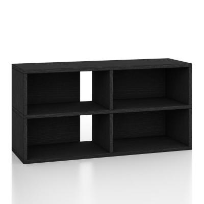 zBoard Black TV Stand Media Console