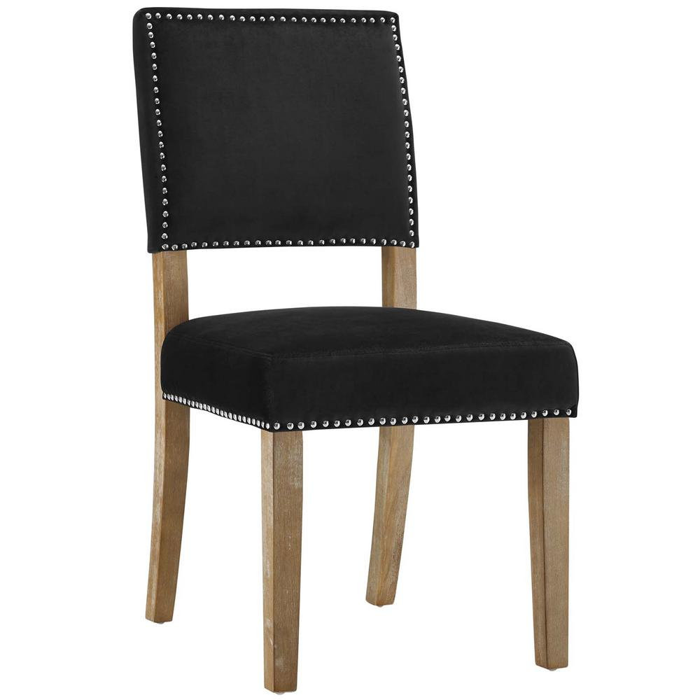 Oblige Black Wood Dining Chair