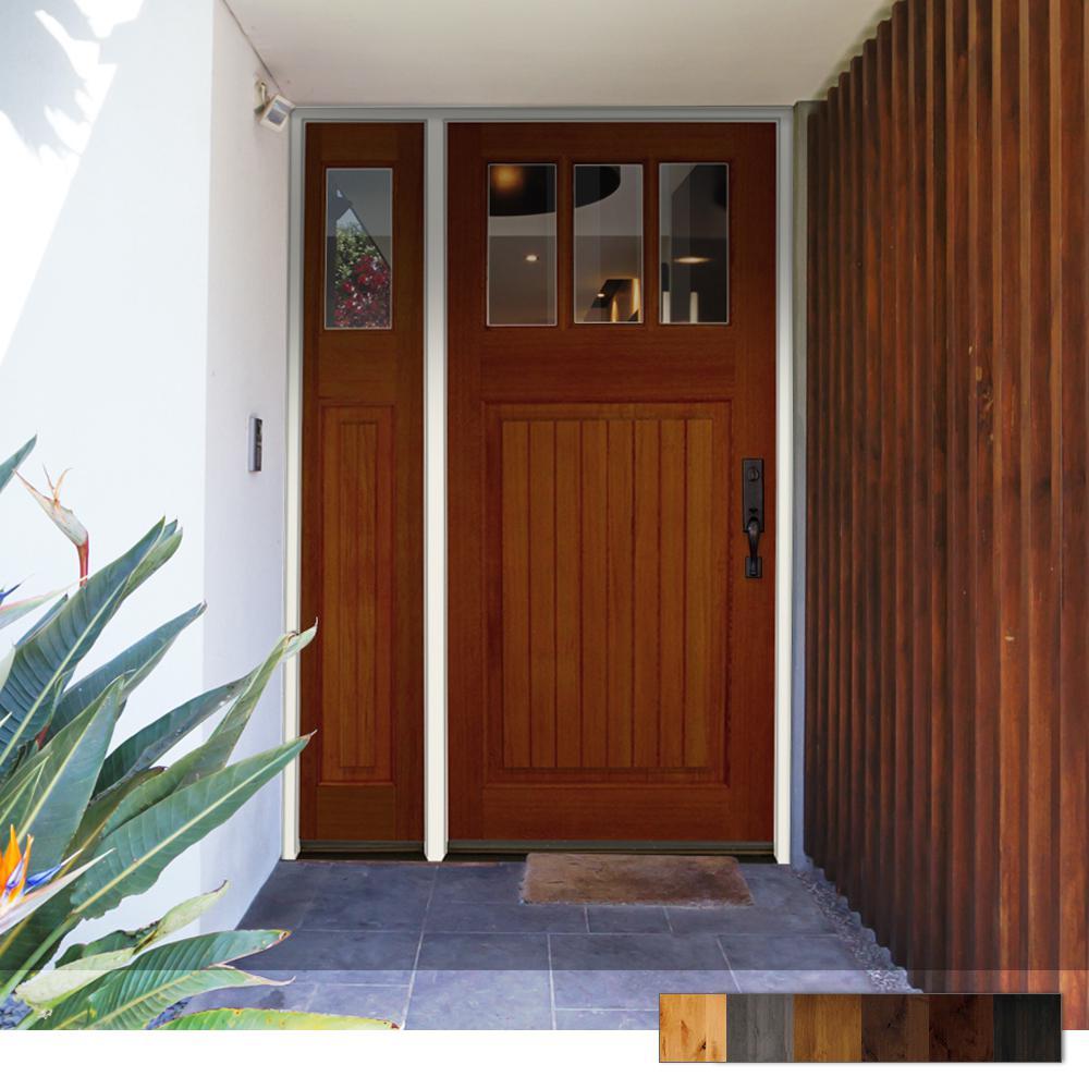 Craftsman Douglas Fir Exterior Wood Door Collection