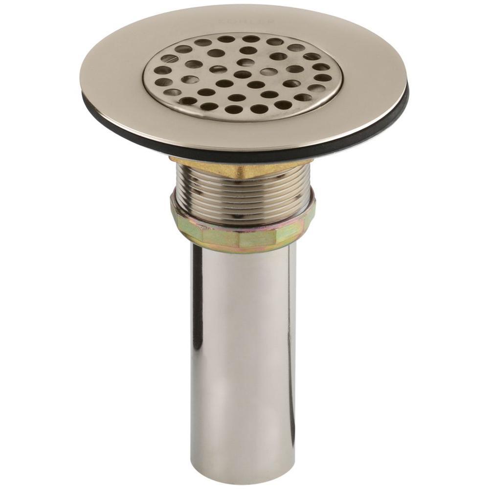4-1/2 in. Brass Sink Strainer