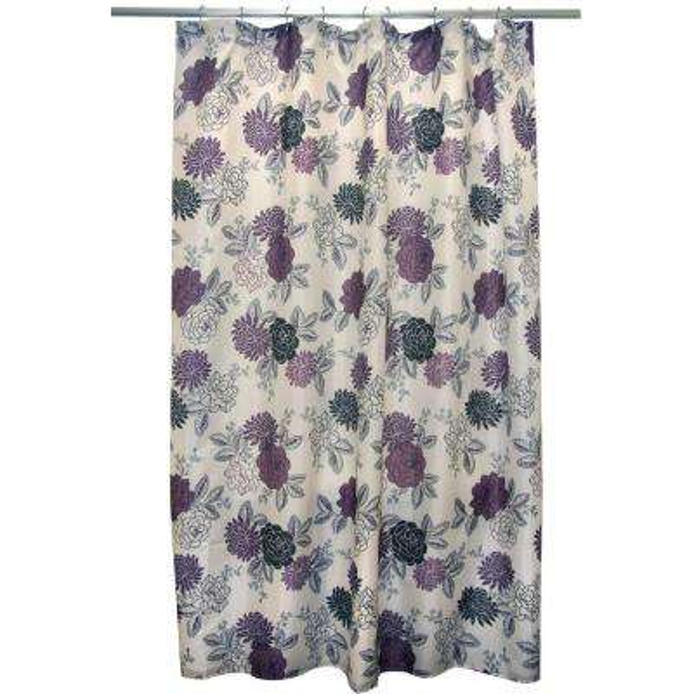 Cheri Purple Shower Curtain