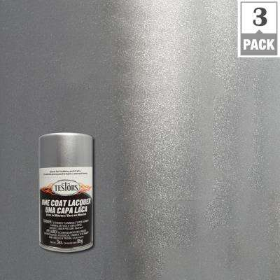 3 oz. Diamond Dust Lacquer Spray Paint (3-Pack)