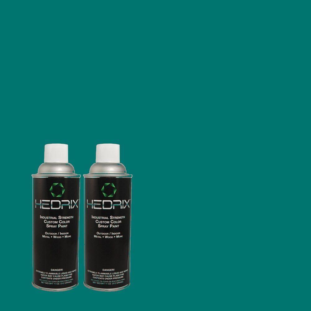 Hedrix 11 oz. Match of 520D-7 Mosaic Tile Low Lustre Custom Spray Paint (2-Pack)