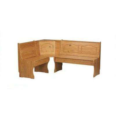Chelsea Light Brown Wood Dining Bench