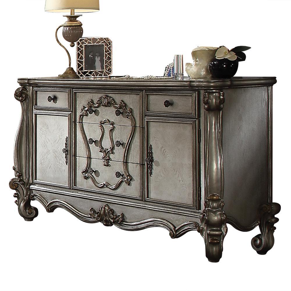 Versailles Antique Platinum Dresser