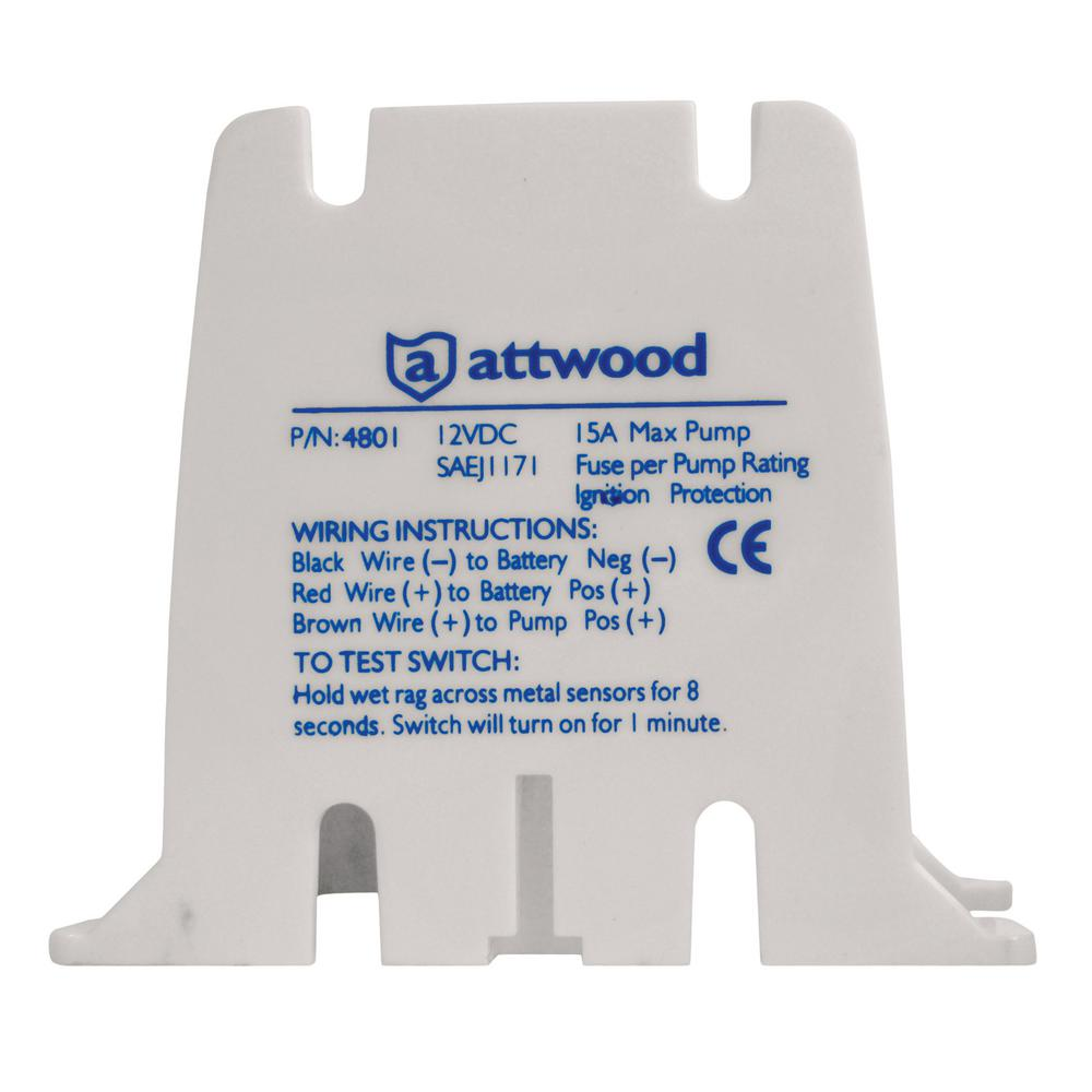 S3 Digital Bilge Switch 12-Volt