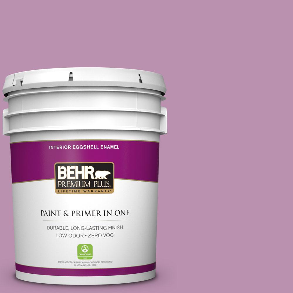 Home Decorators Collection 5-gal. #HDC-MD-10 Blooming Lilac Zero VOC Eggshell
