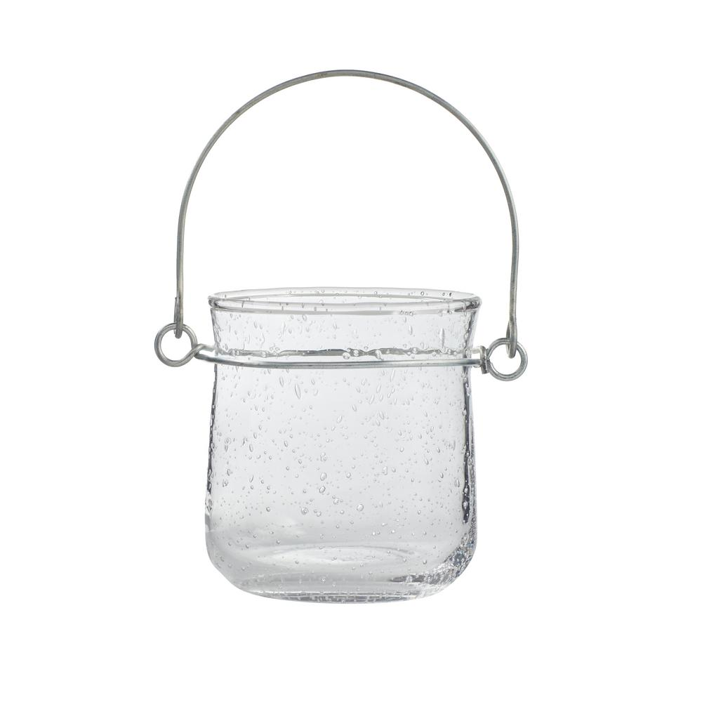 2.99 in. H Bubble Glass Lantern