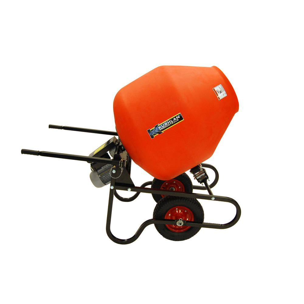10 cu. ft. 1.5 HP 120-Volt Motor Direct Drive Cement Mixer