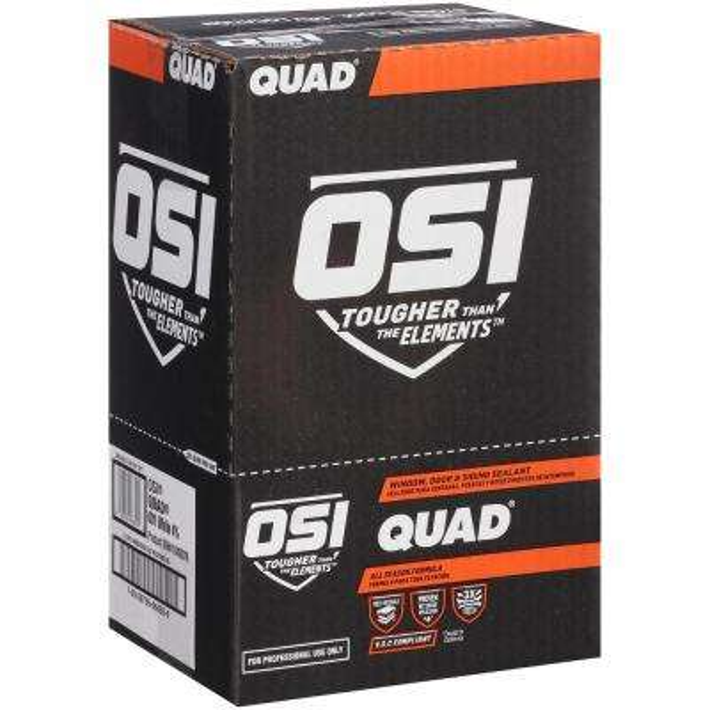 QUAD Advanced Formula 10 fl. oz. Gray #541 Window Door and Siding Sealant (12-Pack)