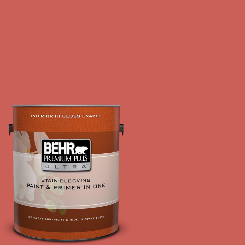 BEHR Premium Plus Ultra 1 gal. #PPU1-5 Intoxication Hi-Gloss Enamel Interior Paint