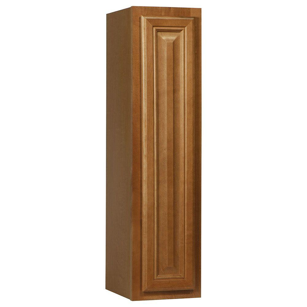 Cambria Assembled 9x36x12 in. Wall Kitchen Cabinet in Harvest