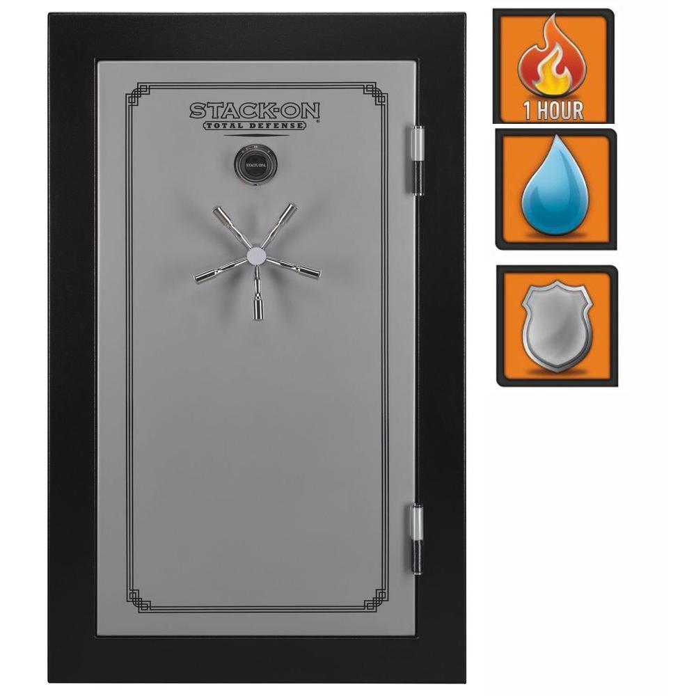 Stack-On Total Defense 21 cu ft. 36 Gun Fire/Waterproof Combo Lock Safe with Door Storage-DISCONTINUED