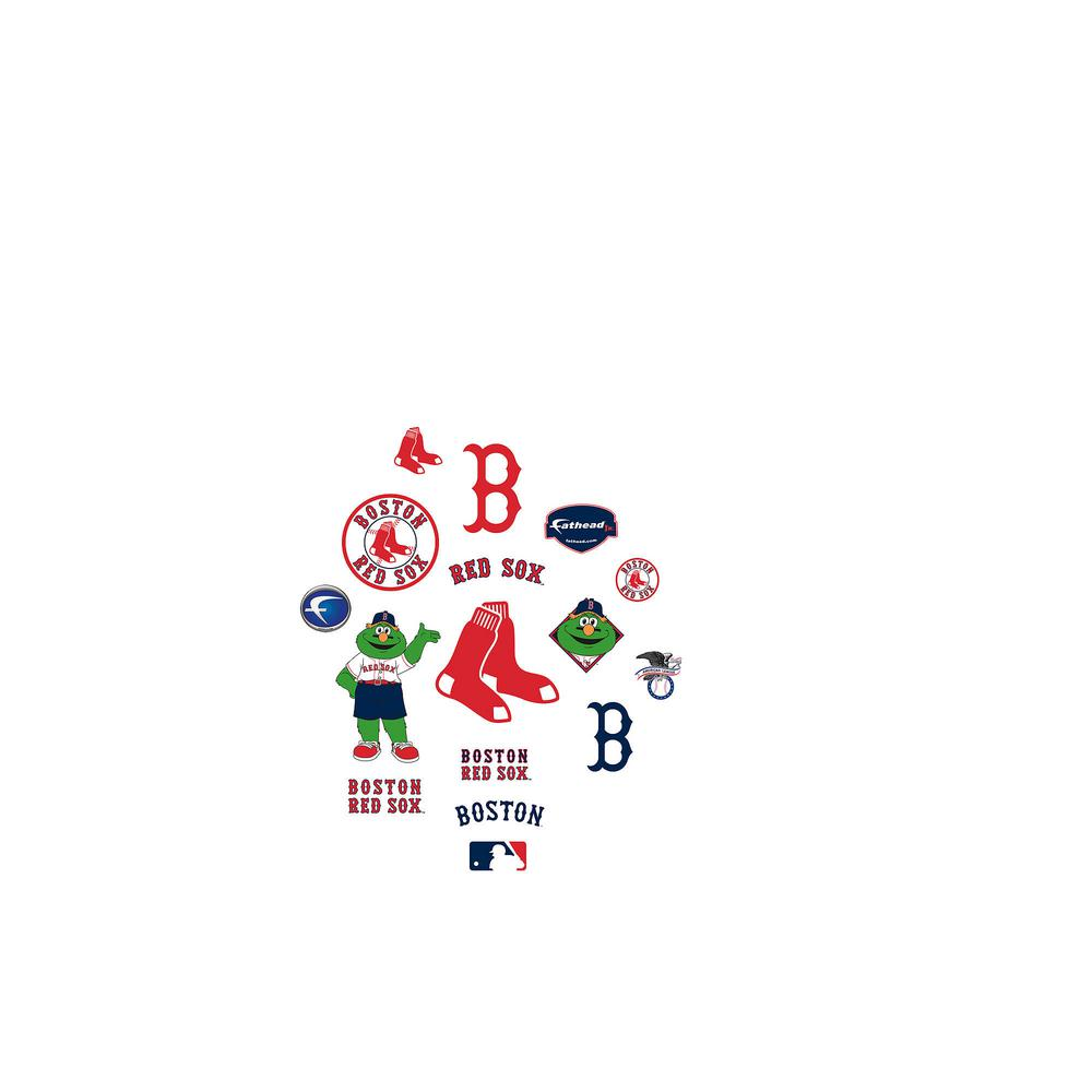 24 in. H x 39 in. W Boston Red Sox Team