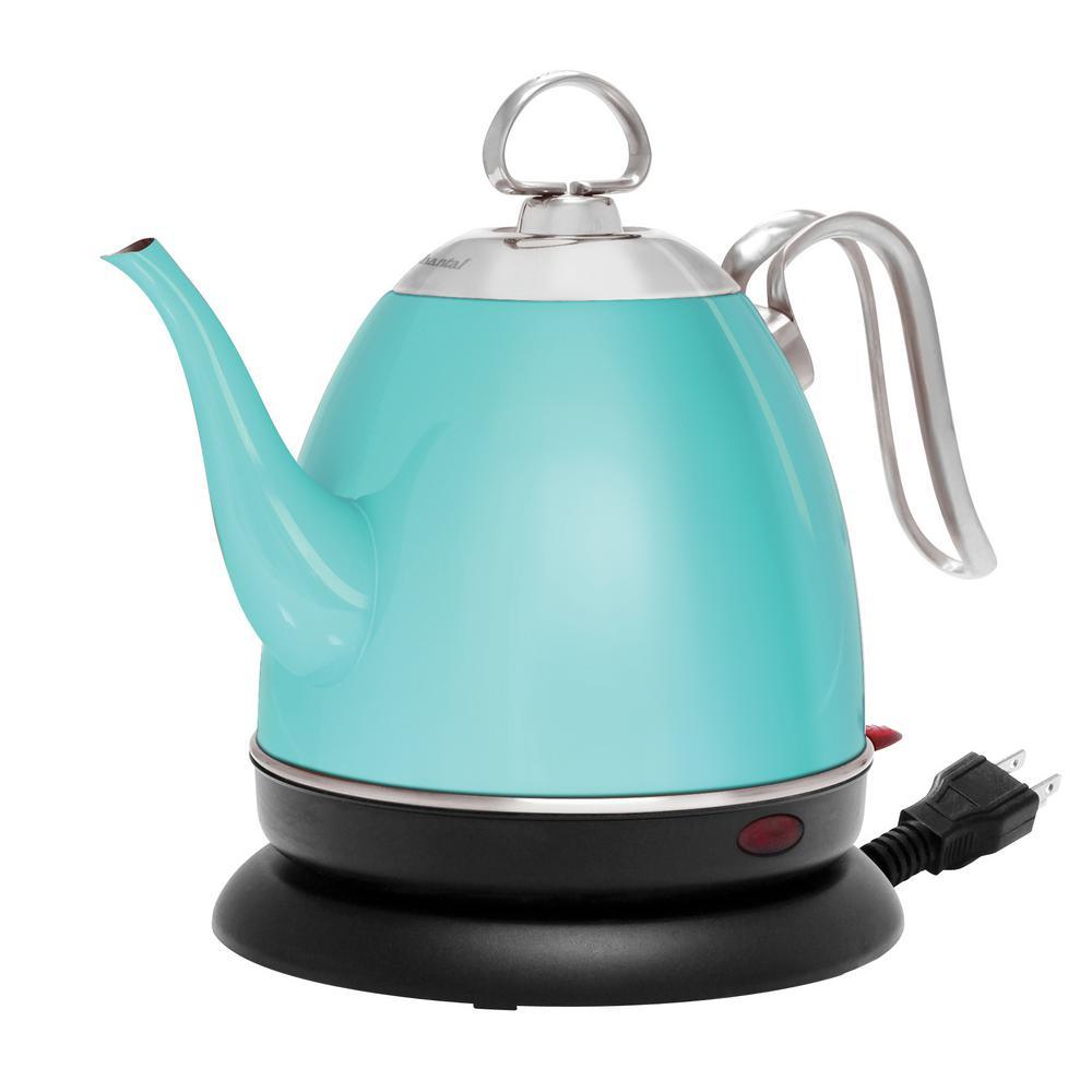 krups 10 cup electric kettle bw442d50 the home depot. Black Bedroom Furniture Sets. Home Design Ideas