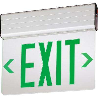 EDG Aluminum LED Emergency Exit Sign
