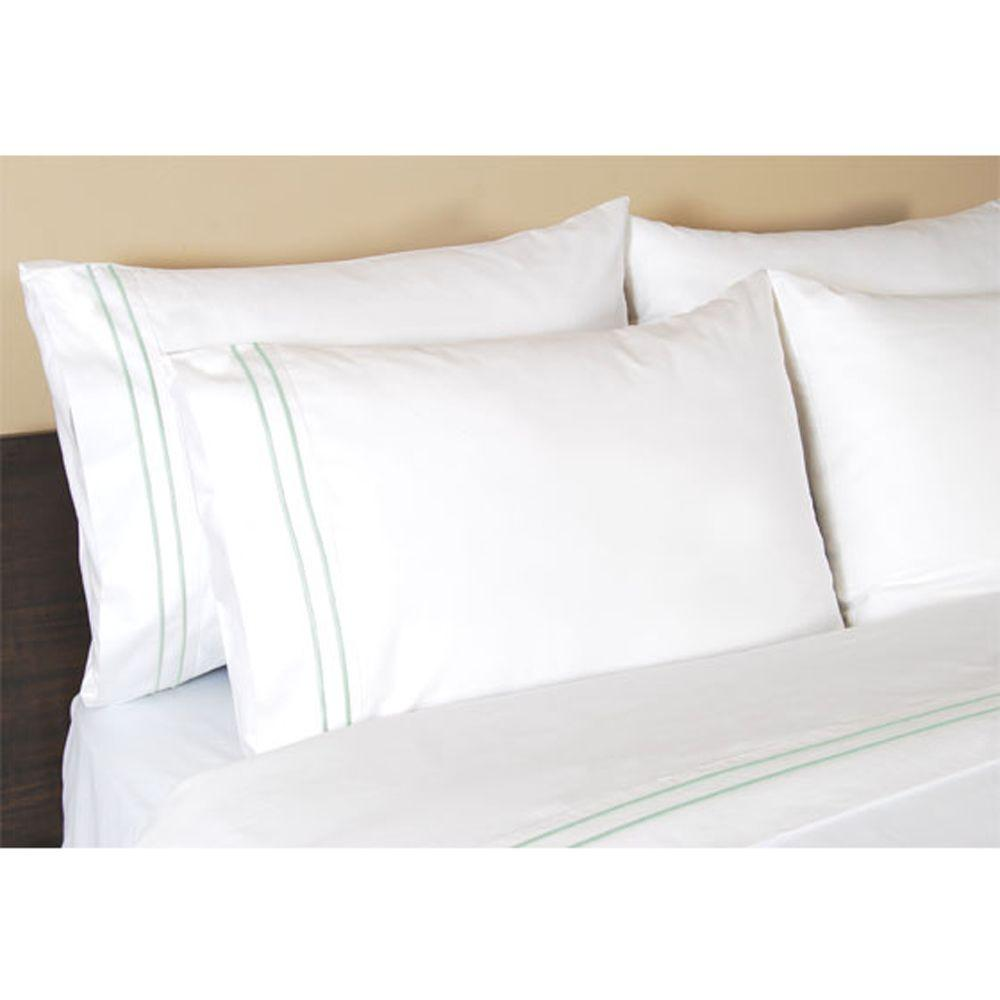 Home Decorators Collection Embroidered Watery King Pillowcases
