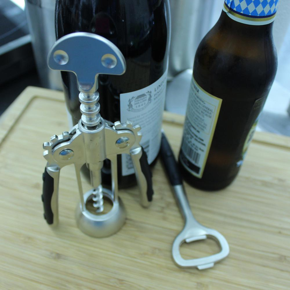 Cubo Corkscrew and Bottle Opener (Set of 2)