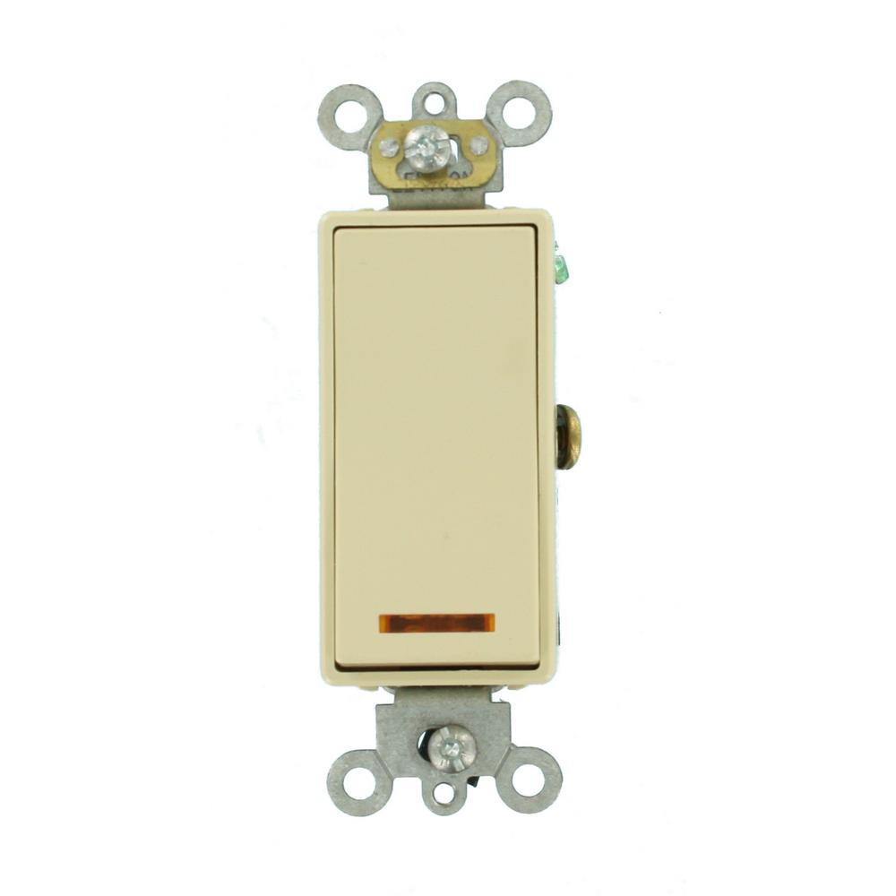 Leviton 20 Amp Decora Plus Commercial Grade Single Pole