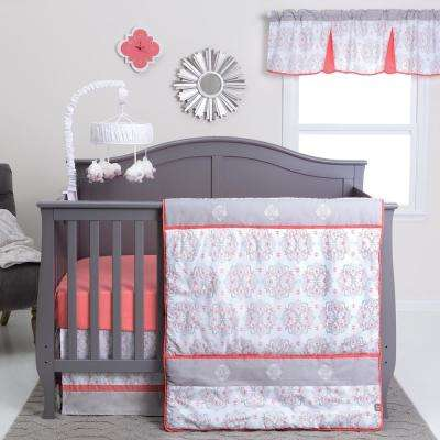 Valencia 3-Piece Crib Bedding Set