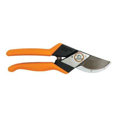 Pro 1 in. Cut Steel High Carbon Blade with Cast Aluminum Handled Pruner