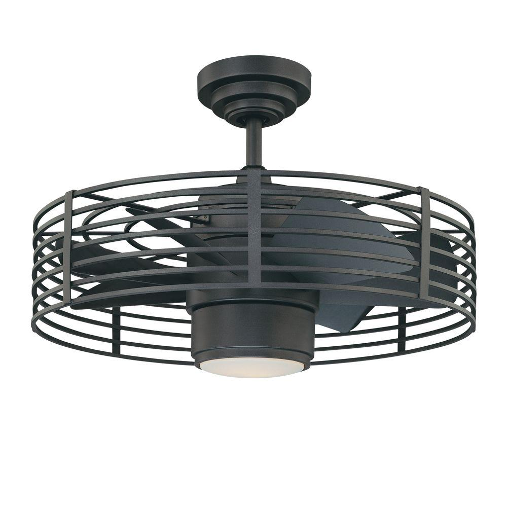 Enclave 23 in. Natural Iron Ceiling Fan
