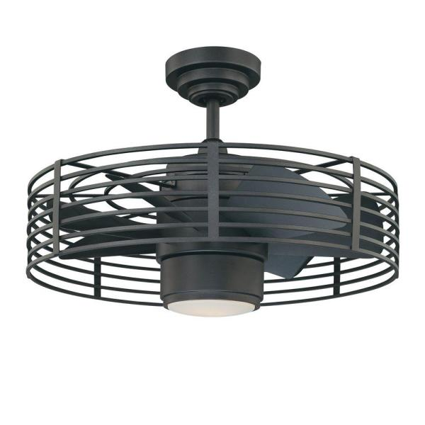 Designers Choice Collection Enclave 23 In Natural Iron Ceiling Fan Ac17723 Ni The Home Depot