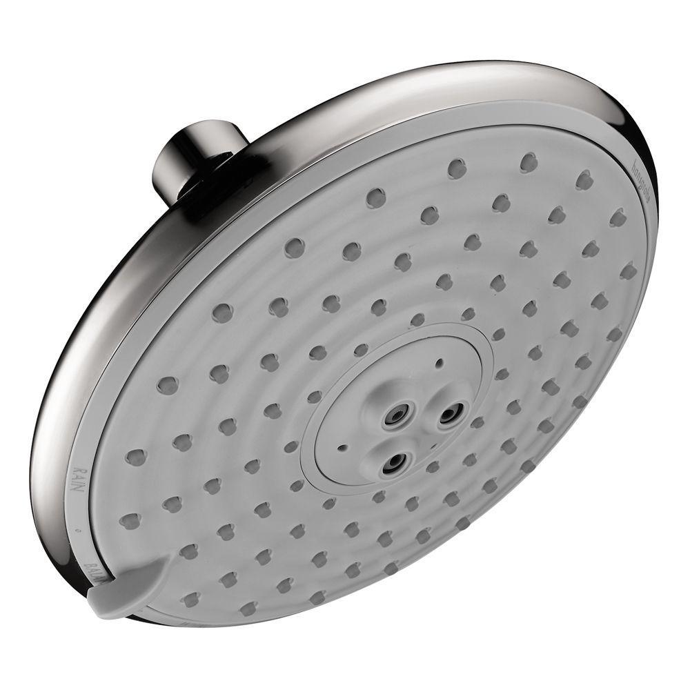 Raindance E 150 5-Spray 5.875 in. Fixed Shower Head in Chrome