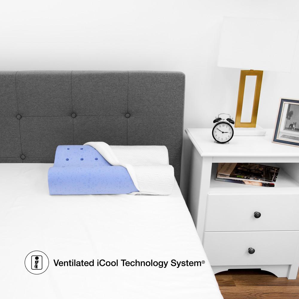 Sensorpedic Majestic Gel Infused Memory Foam Standard