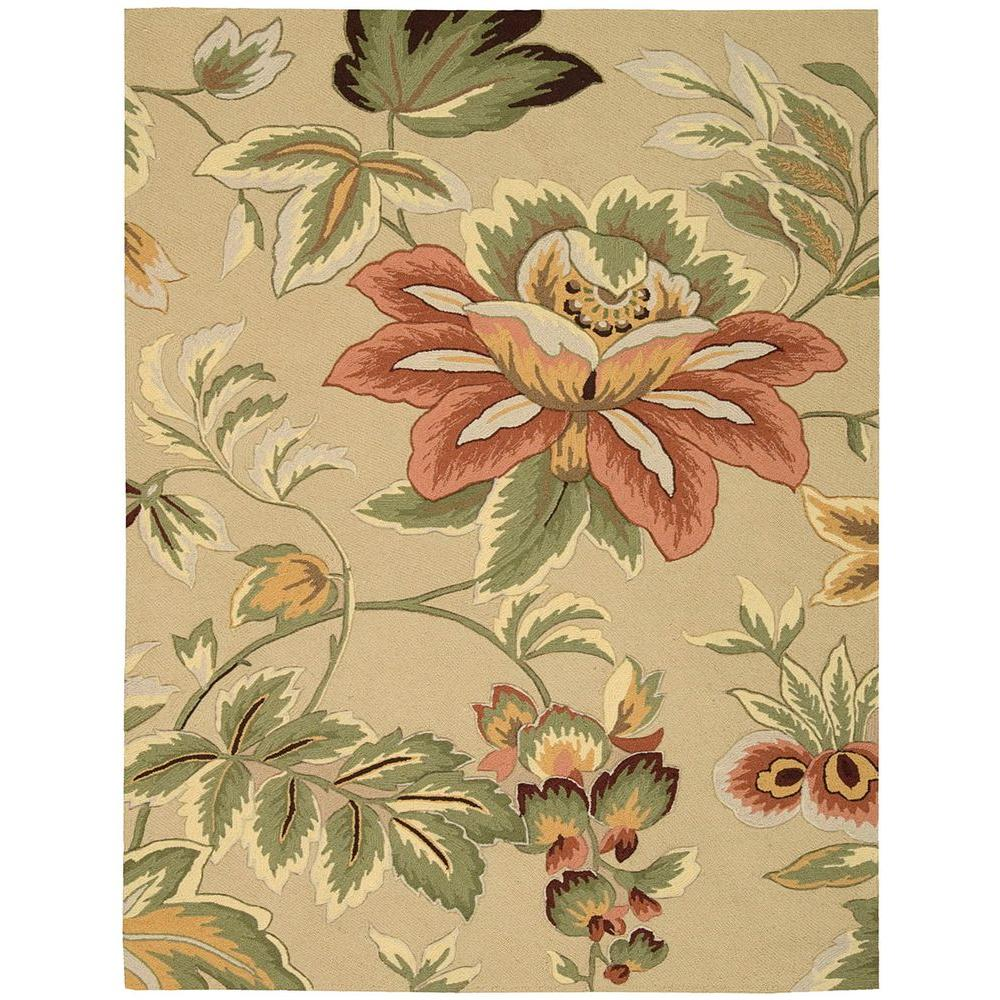 Nourison French Country Beige 8 Ft X 11 Area Rug