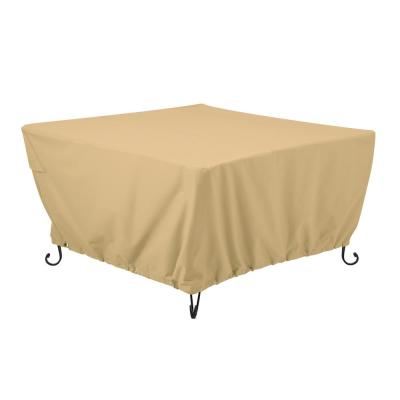 Terrazzo 42 in. Square Fire Pit Table Cover