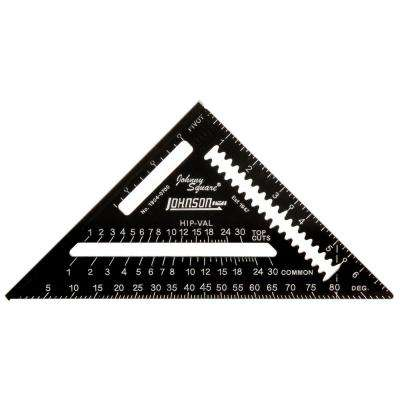 7 in. Johnny Square Professional Easy-Read Aluminum Rafter Square
