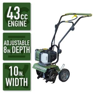 Sportsman Earth Series 10 inch 43cc 2-Cycle Gas Powered Mini Cultivator by Sportsman