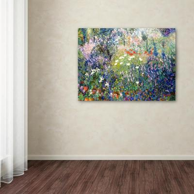 """30 in. x 47 in. """"Garden in Maui"""" by Manor Shadian Printed Canvas Wall Art"""