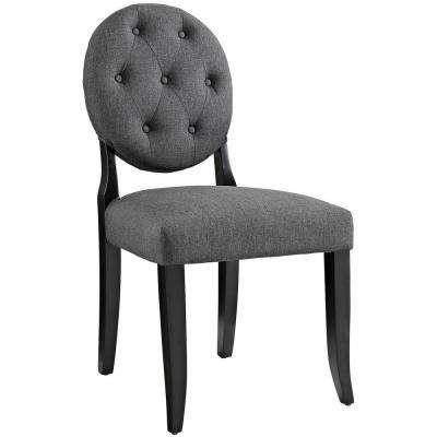 Button Gray Dining Side Chair