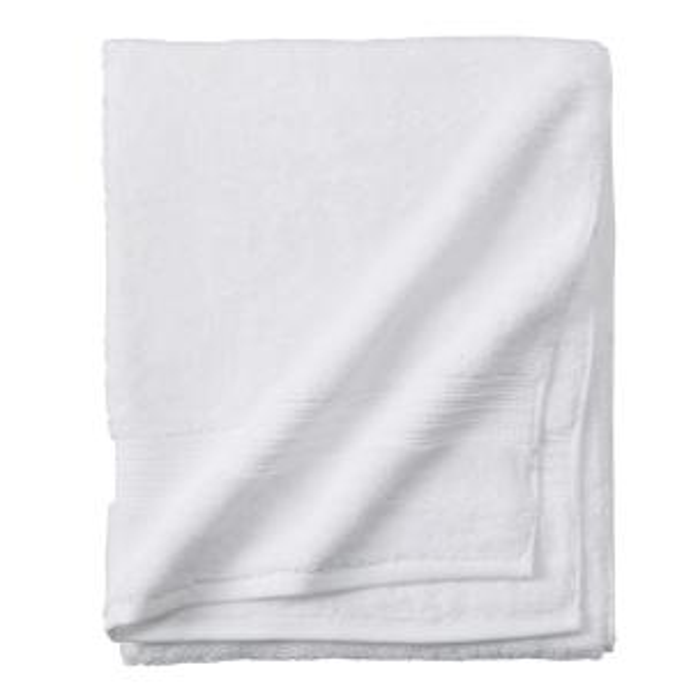 Newport 1-Piece Bath Towel in White