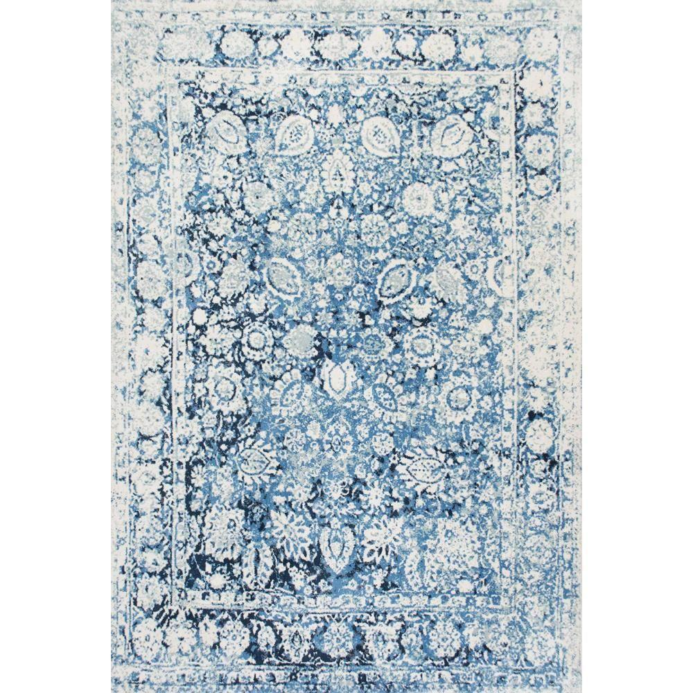 Area Rugs Blue And White
