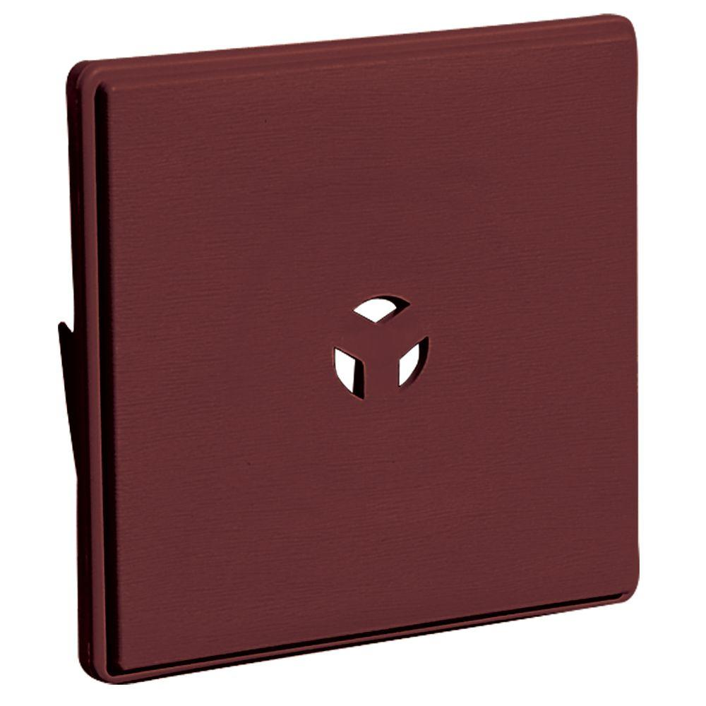6.625 in. x 6.625 in. #078 Wineberry Dutch Lap Surface Block