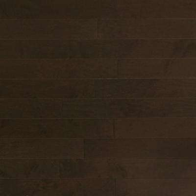 Take Home Sample - Maple Midnight Engineered Click Hardwood Flooring - 5 in. x 7 in.