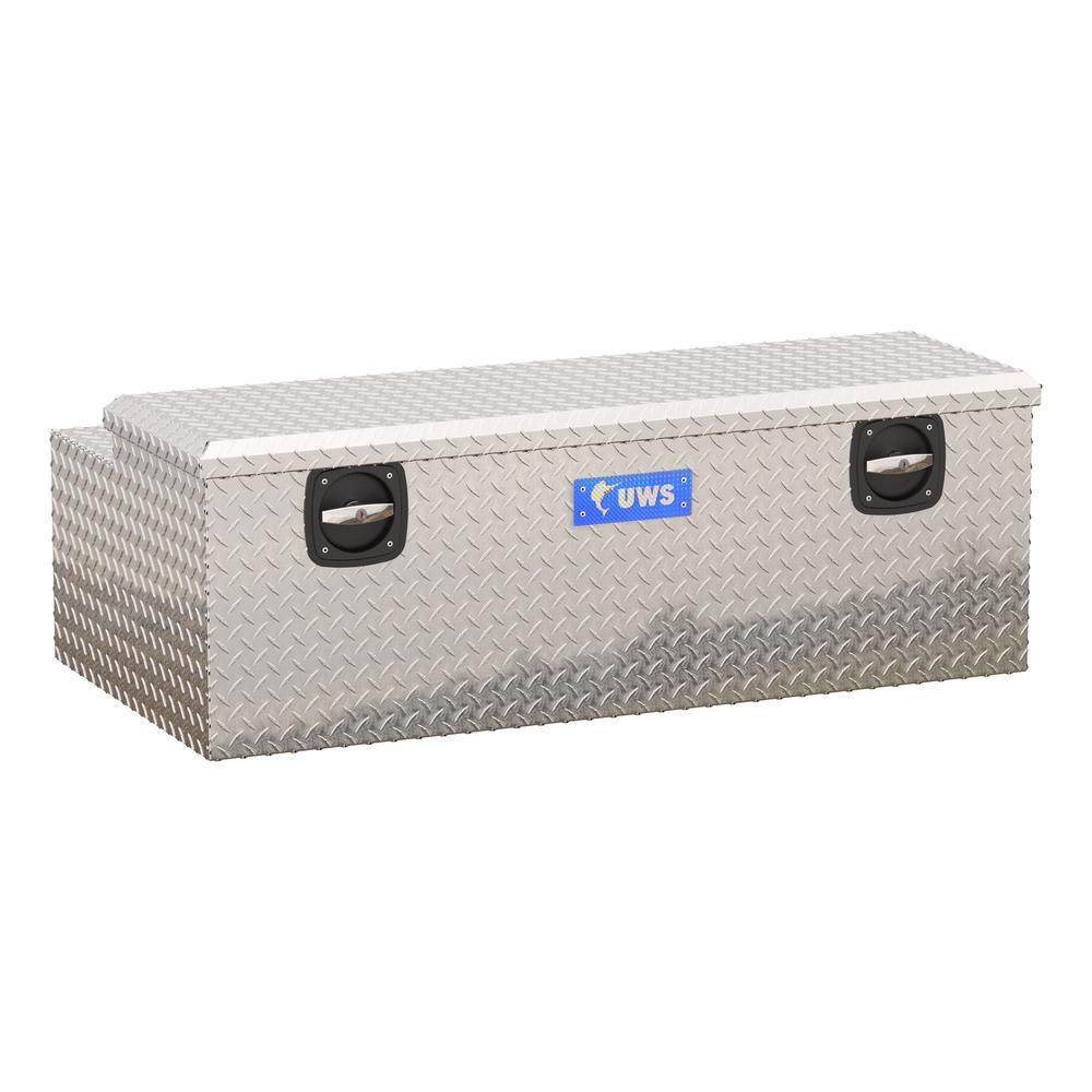 Tool Box Covers >> Uws 47 875 Silver Aluminum Full Size Chest Truck Tool Box