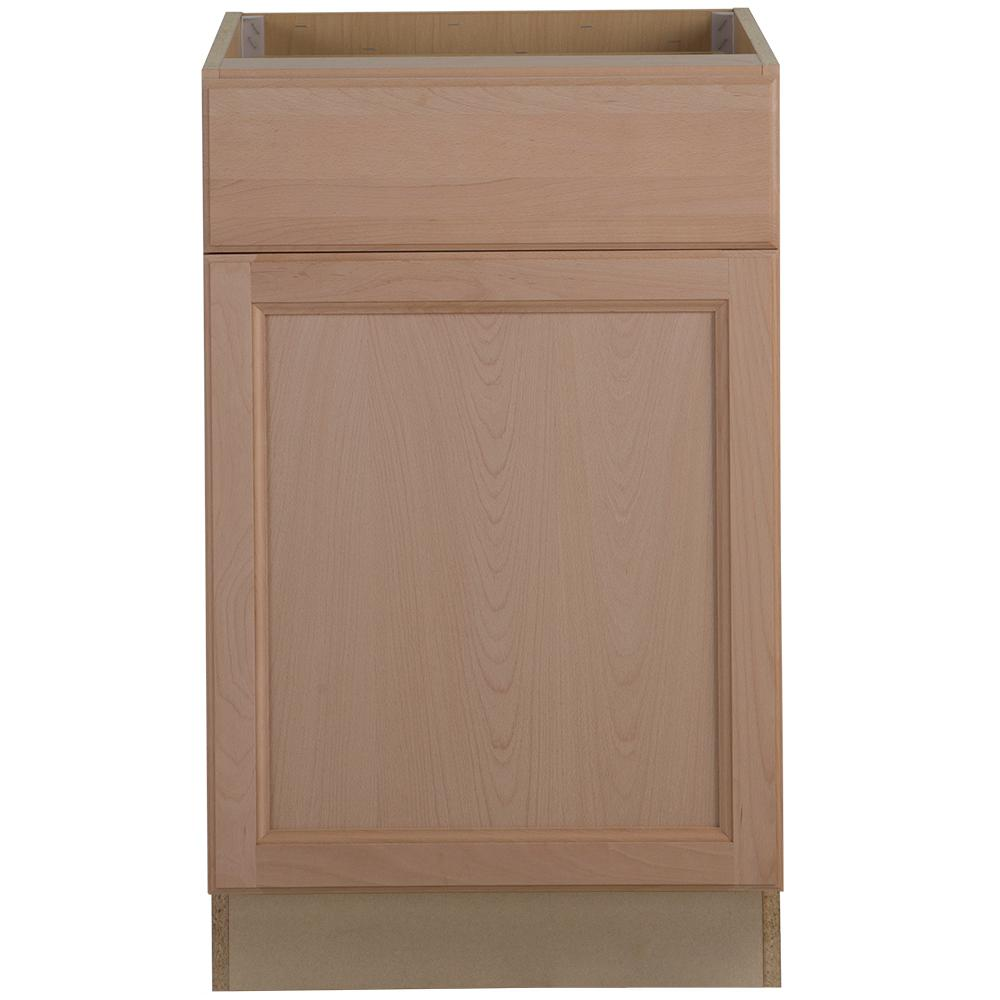 Hampton Bay Unfinished Kitchen Cabinets: Hampton Bay Assembled 21x34.5x24 In. Easthaven Base