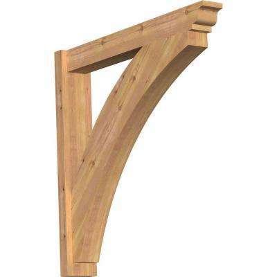 6 in. x 36 in. x 36 in. Thorton Traditional Smooth Western Red Cedar Outlooker