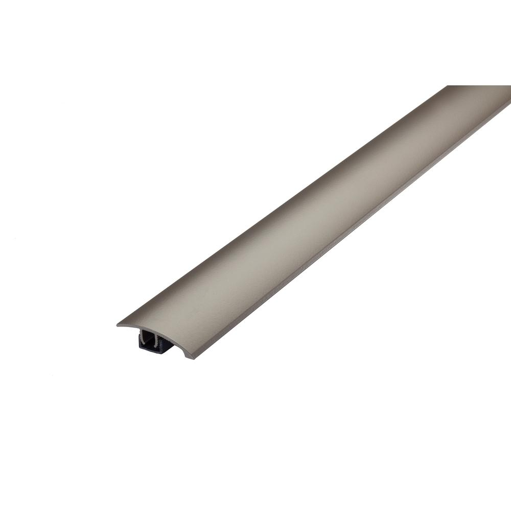 Cinch M-D Building Products 1.75 in x 36 in. Warm Gray Multi-Purpose Reducer for Uneven Floors with Snap Track