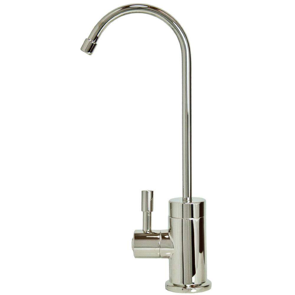 Polished Nickel Kitchen Faucets | Single Handle Standard Kitchen Faucet In Polished Nickel I7201 Pn
